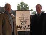 Robert Havlik, MD (left) and Mike Greene, KLS-Martin LP (right)