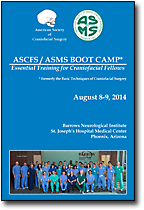ASCFS / ASMS Boot Camp, August 8-9, 2014
